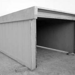 Betónová prefabrikovaná garáž